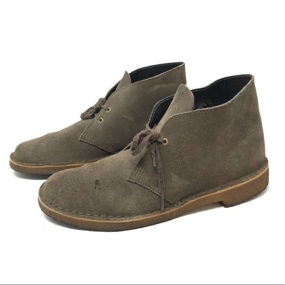 7cf0428c70312 Clarks Shoes | 8 Brown Suede Leather Desert Boots 11826 | Poshmark
